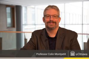 Colin Montpetit, B.Sc. (uOttawa, 1997), Ph.D. (uOttawa, 2002)